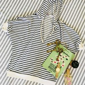 Nautical Striped Soft Beach Hoodie!